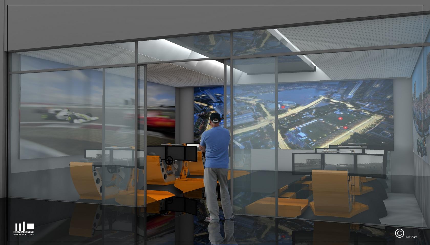 Espace d'entrainement pilote-circuit de NOGARO