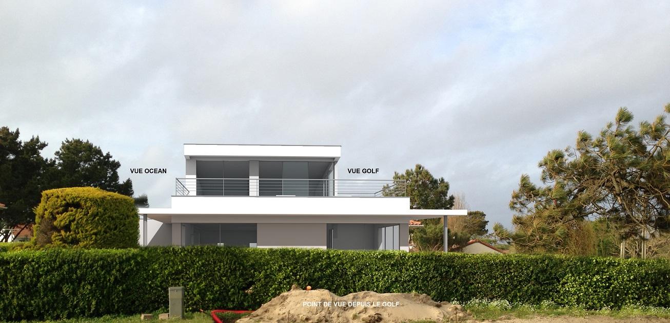 Maison sur le Golf
