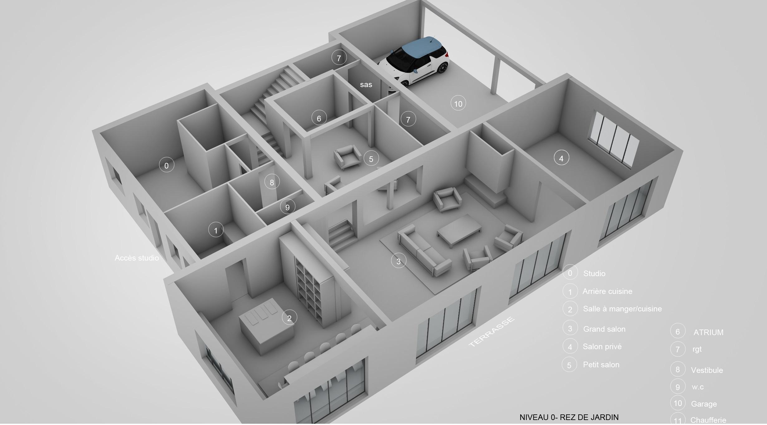 Rénovation et réhabilitation d'une maison – Chiberta